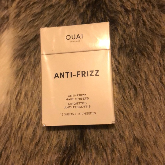 New and Sealed OUAI Anti-Frizz Hair Sheets